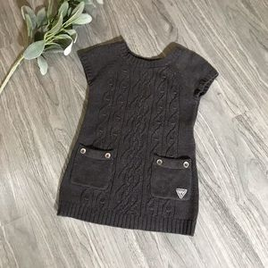 Guess Kids Grey Sweater Dress